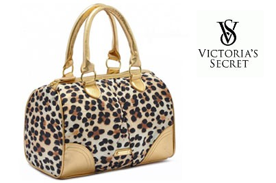 Sneak Peeks*[ Victoria's Secret @ 76% Savings!] B$21 instead of B$86 for 1 unit of Victoria's Secret Leopard Printed Bowling Bag. Redemption at SD HQ, Anggerek Desa / S.C.G Outpost, Kiulap / D2D Delivery (B$2 charge)
