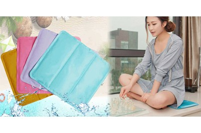 [Blue Cool Mat Deal!] B$7.90 instead of B$29.90 for a unit of Eco Cool Mat - Lowers Body Temperature Without Refrigeration Or Electricity. Redemption at SD HQ, Anggerek Desa / D2D Delivery (B$2 charge)