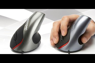 [Black Biomechanics Mouse @ 71% Savings!] B$12.9 instead of B$44 for a unit of Award Winning Biomechanics Upright Mouse - Reduces Hand Fatigue & Chance of Getting Carpal Tunnel. Redemption at SD HQ, Anggerek Desa