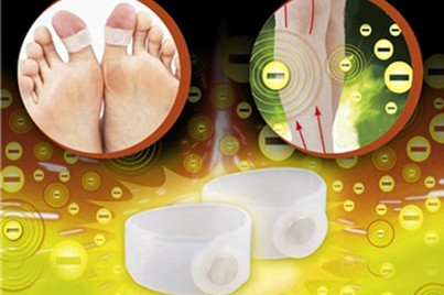 [Slimming Toe Ring @ 75% Savings!] B$5 instead of B$19.9 for 2 Pairs of Weight Loss Magnetic Slimming Toe Ring. Redemption at SD HQ, Anggerek Desa