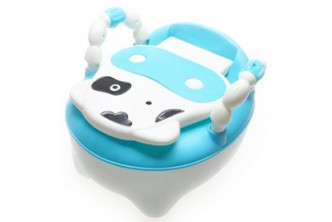 [Toddler-Potty-Training @ 86% Savings!] B$10 instead of B$73 for a unit of Baby Training Potty with Detachable Bucket. (Choose between Pink or Blue) Redemption at SD HQ, Gadong