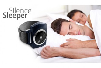 [Snore Stopper @ 60% Savings!] B$19.90 instead of B$49.9 for a unit of Silent Sleeper Snore Stopper Bracelet Watch. Redemption at SD HQ, Gadong