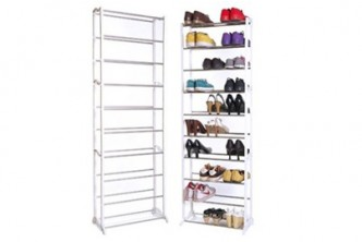 [10 Tier Shoe Rack @ 69% Savings!] B$13 instead of B$42.90 for a unit of 10-Tier Vertical Shoe Rack. Redemption at SD HQ, Gadong.