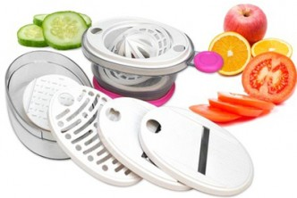 Raya Special* [Food Slicer @ 82% Savings!] B$7.9 instead of B$44 for a unit of Multi-functional Food Slicer. (Color : Pink) Redemption at SD HQ,Gadong.