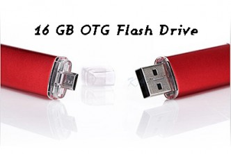 [16GB Flash Drive @ 78% Savings!] B$12.90 instead of B$59 for a unit of 16GB OTG Flash Drive. Redemption at SD HQ, gadong