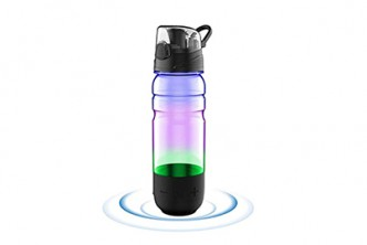 U.S. Deal [Built-in Alarm Water Bottle @ 51% Savings!] B$49 instead of B$99 for a unit of Smart Bottle with Bluetooth Speaker+Dancing Lights. Redemption at SD HQ, Gadong.