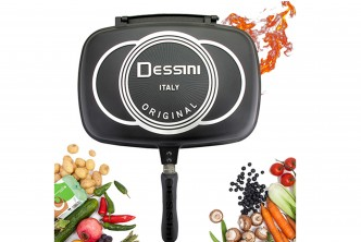 [SOKANO Grill Frying Pan @ 39% Savings!] B$35 instead of B$57 for a unit of Double Sided Pressure Grill Frying Pan. Redemption at SD HQ, Gadong.