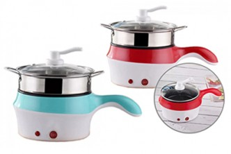 [SOKANO Multifunction Pan @ 60% Savings!] B$22 instead of B$55 for a unit of Multifunctional Electric Steamer + Cooking Frying Pan. Redemption at SD HQ, Gadong.