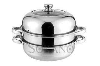 [SOKANO Multipurpose Steamer Pot @ 51% Savings!] B$22 instead of B$45 for a unit of Multipurpose Stainless Steel Steamer + Steamboat Pot. Redemption at SD HQ, Gadong.
