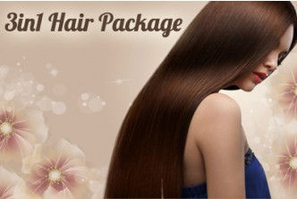 [3 in 1 Hair Package @ 68% Savings!] B$58 instead of B$180 for a session of  Hair Rebonding OR  Digital Perm OR Hair Color + Hair Cut + Hair Treatment at Oxygen Salon, Delima Square