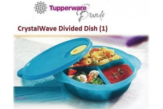 [For TW Members ONLY]  Crystal Wave Divided Dish. Collection at sD HQ/D2D Delivery including Seria/Kuala Belait, Tutong & Brunei-Muara! Refer to Fine Print for Terms and Conditions!