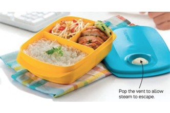 [For TW Members ONLY]  Reheatable Divided Lunch Box. Collection at sD HQ/D2D Delivery including Seria/Kuala Belait, Tutong & Brunei-Muara! Refer to Fine Print for Terms and Conditions!