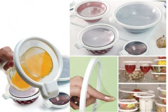 [4 Seal Lids @ 47% Savings!] B$7.90 instead of B$15 for a Set of 4 Vacuum Seal Lids, Redemption at SD HQ, Gadong