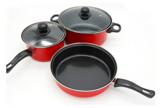 Instant Redemption* [3IN1 Non Stick Pot/Pan Set @ 61% Savings!] B$35 instead of B$90 for a set of 3IN1 Non Stick Pot/Pan Set. Redemption at SD HQ, Gadong.