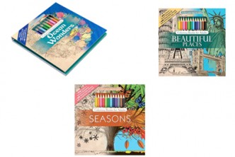 [Adult Colouring Book + Colour Pencils @ 53% Savings!] B$19 instead of B$40 for a unit of Adult Colouring Book Set . Redemption at SD HQ, Gadong.