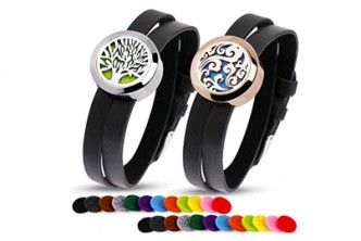 U.S. Deal [Aromatherapy Essential Oil Diffuser Bracelet @ 45% Savings!]  B$16 instead of B$29 for a unit of Stainless Steel Diffuser Bracelets with 12 Refillable Pads. Redemption at SD HQ, Gadong.