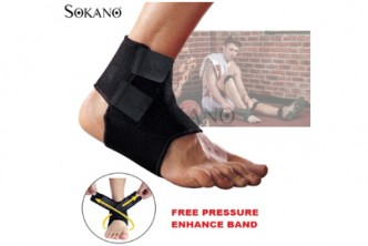 [SOKANO Adjustable Ankle Guard @ 58% Savings!] B$8 instead of B$19 for a Adjustable Ankle Guard For Sports, Outdoor Activities and Elders with Free Pressure Enhance Band. Redemption at SD HQ, Gadong.