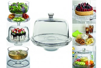 [Amazing Cake Stand @ 52% Savings!] B$33 instead of B$69 for a unit of Multipurpose Amazing cakestand. Redemption at SD HQ, Anggerek Desa