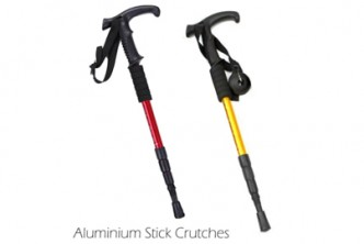 Color Subject to Availability* [Adjustable Aluminium Walking Stick @61%  Savings!] B$15 instead of B$38 for a set Adjustable Aluminium Stick Crutches for Hiking, Walking & Travel.Redemption at SD HQ, Gadong.