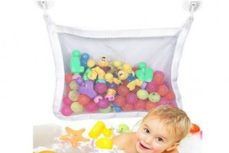 [2x Baby Bath Organizer Bag @ 72% Savings!] B$5 instead of B$18 for 2 units of Baby Bath Toy Storage Bag Organizer. Redemption at SD HQ, Gadong.