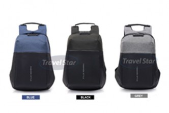 [Travel Star Anti Theft Backpack @ 57% Savings!] B$25 instead of B$59 for a unit of Travel Star 9933 Anti Theft Travel Backpack with Password Lock. Redemption at SD HQ, Gadong.