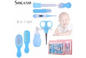 [SOKANO 8in1 Newborn Baby Care Kit @ 52% Savings!] B$12 instead of B$25 for a My First Baby Newborn Baby Care Kit Set. Redemption at SD HQ, Gadong.