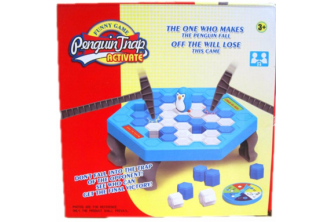 [Don't Drop the Penguin @ 75% Savings!] B$10 instead of B$39.9 for a unit of Penguin Trap Ice Breaker Game  . Redemption at SD HQ, Gadong