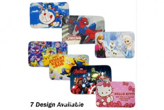 [Floor Mat Rugs @ 47% Savings!] $10 instead of $19 for One Floor Mat with Cartoon Design. Redemption at SD HQ, Gadong.