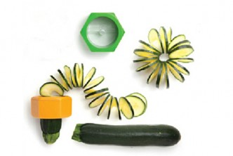 [Yellow Cucumber Slicer @ 72% Savings!] B$6.9 instead of B$25 for a unit of Creative Cucumber Spiral Slicer. Redemption at SD HQ, Anggerek Desa
