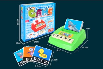 [Family Learn and Have Fun @ 71% Savings!] B$10 instead of B$35 for a unit Children English Literacy Spelling Fun Family Game. Redemption at SD HQ, Gadong