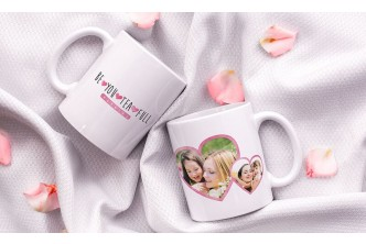 [Personalized White/Latte/Magic Mug up to 63% Savings!] Personalised Photo/Latte/Magic Mug starting from $6.90.D2D DHL nationwide delivery.
