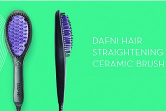 Instant Redemption* [DAFNI Straightening Brush @ 54% Savings!] B$59 instead of B$129 for a unit of DAFNI Smoothing Straightening Ceramic Brush. Redemption at SD HQ, Gadong