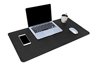 [Multifunctional Office Desk Pad @ 50% Savings!] B$20 instead of B$40 for a unit of Multifunctional Office Desk Pad, 80cm x 40cm Ultra Thin Waterproof Leather Mouse Pad for Office or Home Use. Redemption at SD HQ, Gadong.