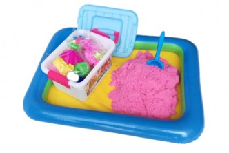 [In-House Kinetic Sand Castle @ 60% Savings!] B$19 instead of B$48 for a unit 2 KG DIY Kinetic Space Pink Sand. Redemption at SD HQ, Gadong