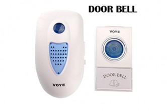 [Remote Control Intelligent Wireless Doorbell @ 69% Savings!] B$13.9 instead of B$45 for a unit of Remote Control Intelligent Wireless Doorbell. Redemption at SD HQ, Gadong