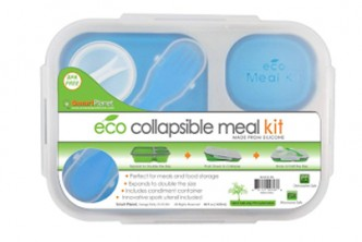 [Smart Planet Collapsible Eco Meal Kit @ 46% Savings!] B$27 instead of B$39 for a set of Smart Planet Collapsible Eco Meal Kit. Redemption at SD HQ, Gadong.