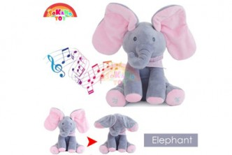 [SOKANO TOY Animated Sing & Play Elephant Toy @ 31% Savings!] B$29 instead of B$42 for a  Animated Sing & Play Elephant Plush Kids Interactive Fun Toy. Redemption at SD HQ, Gadong.