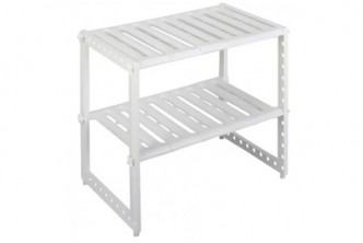 [Sink Rack @ 69% Savings!] B$12 instead of B$39 for a unit of Extendable Under Sink Rack. Redemption at SD HQ, Gadong