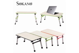 [Foldable Laptop Desk @ 75% Savings!] B$25.9 instead of B$109 for a unit of SOKANO Foldable Laptop Table Adjustable Portable Notebook Bed Desk. Redemption at SD HQ, Gadong