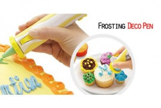 Instant Redemption* [Frosting Deco Pen @ 74%] B$13 instead of B$39 for a unit of Frosting Deco Pen for Decorative Cakes & Cookies. Redemption at SD HQ, Gadong.