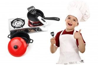 [SOKANO Fun Kitchen Cookware Playset @ 62% Savings!] B$10 instead of B$26 for a unit of Kitchen Cookware Playset. Redemption at SD HQ, Gadong.