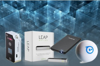 [The Future is Here up to 65% Savings!] Price starts from $99 for a unit of Brookstone Virtual Keyboard/ Leap Motion/ Brookstone Pocket Projector/ Sphero 2.0. Redemption at SD HQ, Gadong.