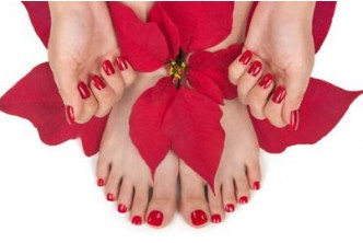 [Super Happy Feet @ 64% Savings!] +-1.5hrs Foot Reflexology + Manicure + Pedicure + Color  @B$15 instead of B$42 at My Beauty & Body Workshop, Kiulap