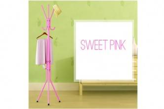 [Hanger @ 52% Savings!] B$14 instead of B$29 for a unit of Hat Clothes Jacket Hanger Umbrella and Handbag Hanger Stand. Redemption at SD HQ, Gadong.