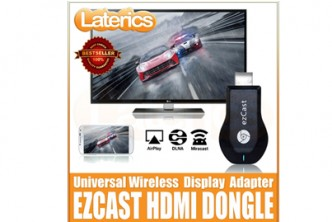 [HDMI Display Adapter @ 50% Savings!] B$49 instead of B$129 for a unit of EZCast Dongle Universal WiFi HDMI Display Adapter . Redemption at SD HQ, Gadong