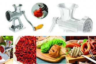 [PRO Grinder @ 57% Savings!] B$25 instead of B$59 for a unit of Heavy Duty Hand Operated Meat Grinder Beef Noodle Pasta Sausages Maker . Redemption at SD HQ, Gadong.