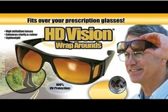[HD Sunglasses @ 82% Savings!] B$15.9 instead of B$89 for a unit of HD Vision Wraparounds Sunglasses. Redemption at SD HQ, Anggerek Desa