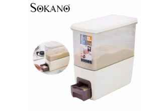 [Japanese Rice Dispenser @ 45% Savings!] B$49 instead of B$89 for a unit of SOKANO Japanese Rice Dispenser. Redemption at SD HQ, Gadong