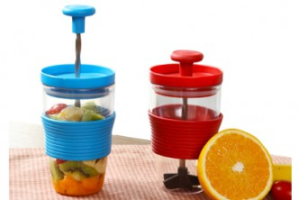instant Redemption* [Juice Extractor @ 77% Savings!] B$8.9 instead of B$38 for a unit of DIY Manual Fruit Juice Extractor and Mixer. Redemption at SD HQ, Gadong