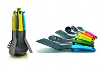 [6 Colourful Kitchen Utensils @ 70% Savings!] B$15 instead of B$49.90 for a unit of 6-Piece Kitchen Tool Set. Redemption at SD HQ, Gadong